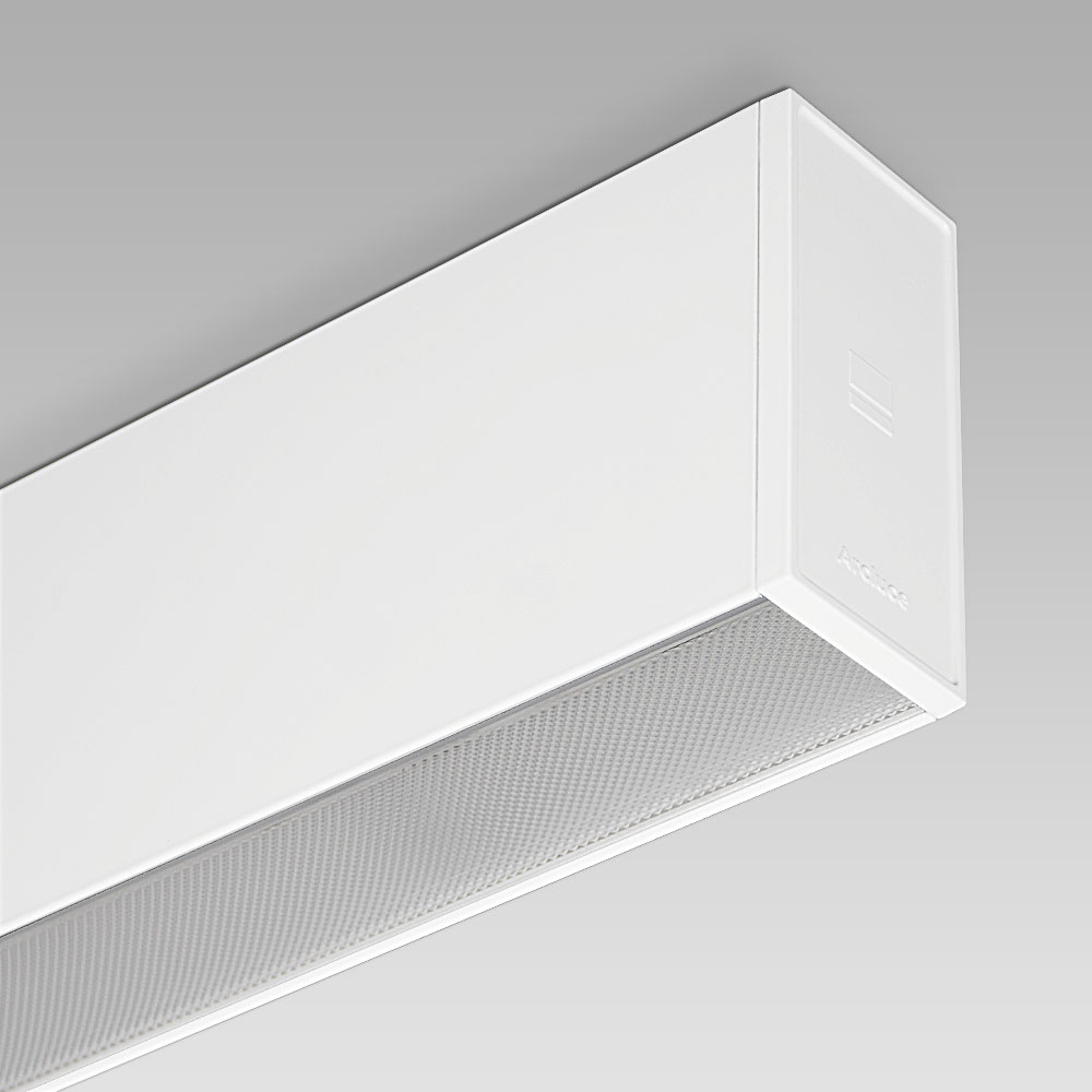 RIGO51 Ceiling - ceiling mounted lumianire for indoor lighting with an elegant linear design
