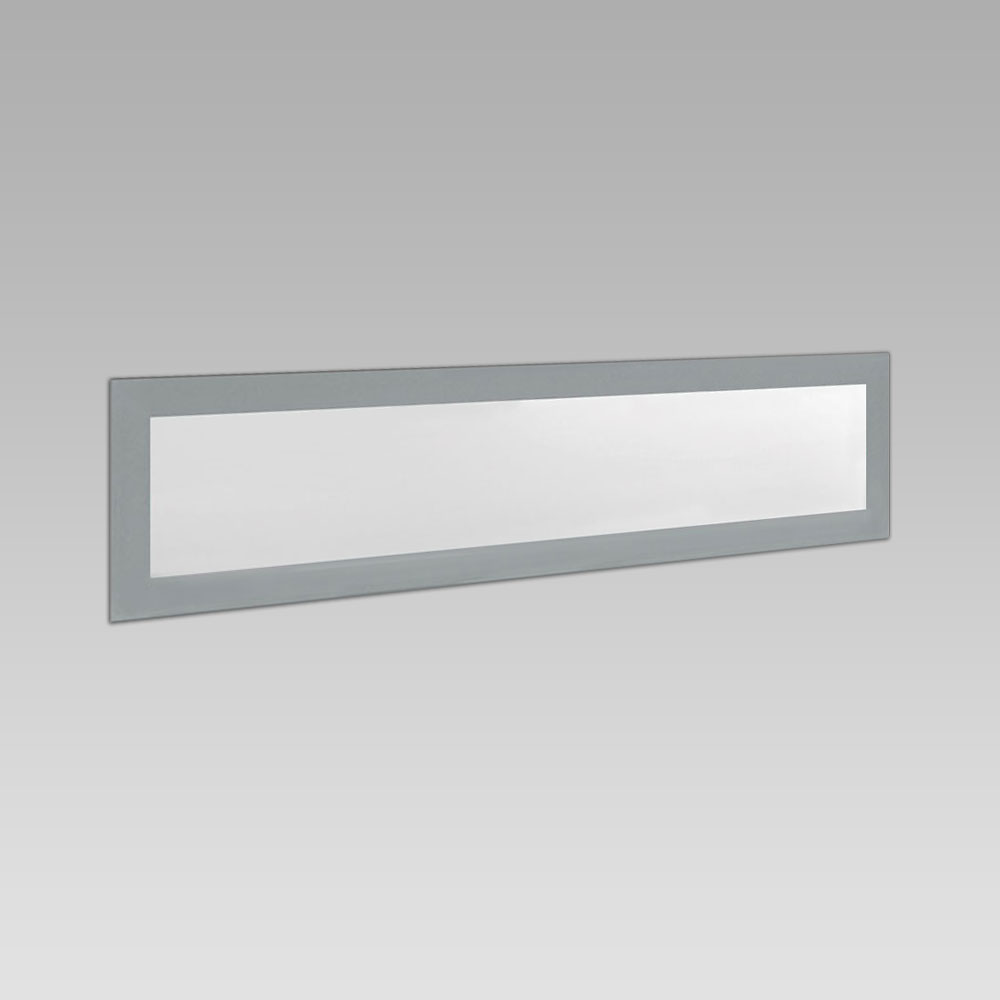 Recessed wall luminaires  Wall or inground recessed luminaire for outdoor lighting, suitable for single or in-line installations