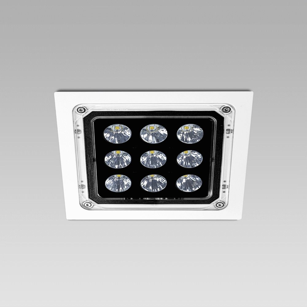 High protection degree recessed luminaires  NADIR-IN