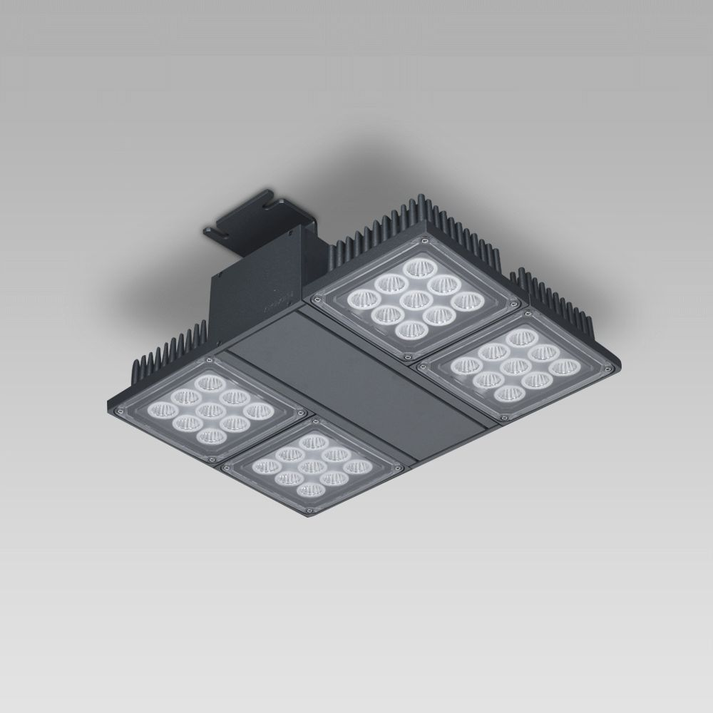 Foodlight for the illuminattion of large areas, featuring high lighting performance-NADIR
