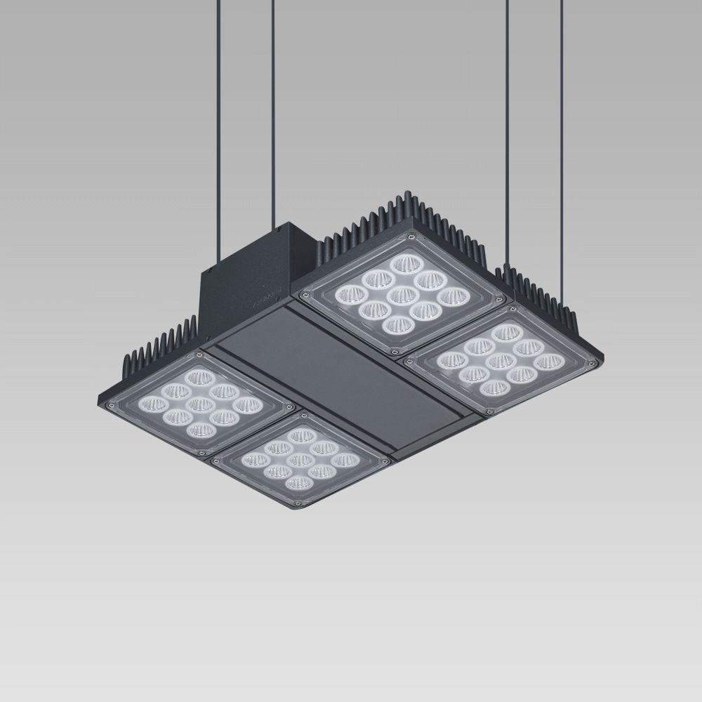 Éclairage de grands espaces  Foodlight for the illuminattion of large areas, featuring high lighting performance-NADIR