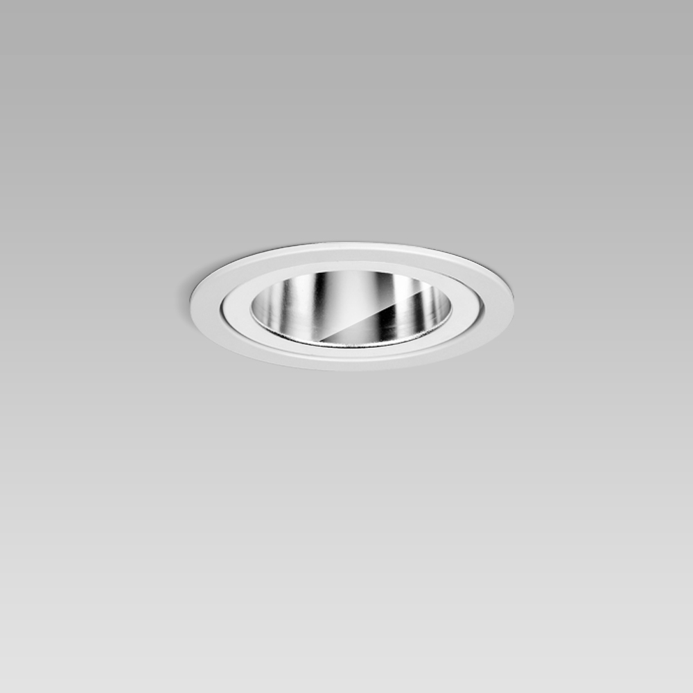 Luminaires encastrés  Ceiling recessed luminaire for indoor lighting with elegant round design