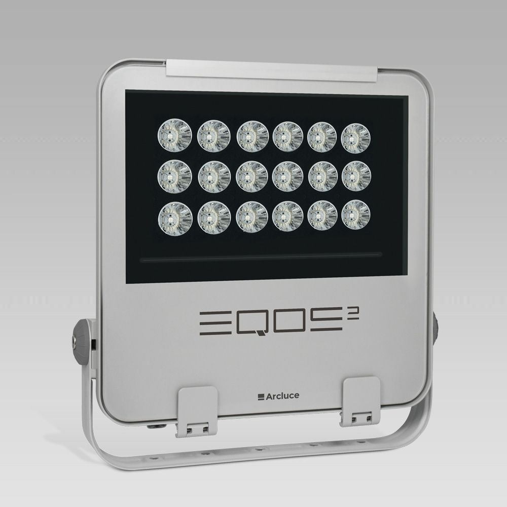 Outdoor floodlights  Powerful floodlight for outdoor lighting EQOS2: high lighting performance and energy efficiency