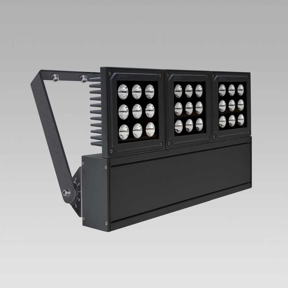 Outdoor floodlights  Foodlight for the illuminattion of large areas, featuring high lighting performance-NADIR